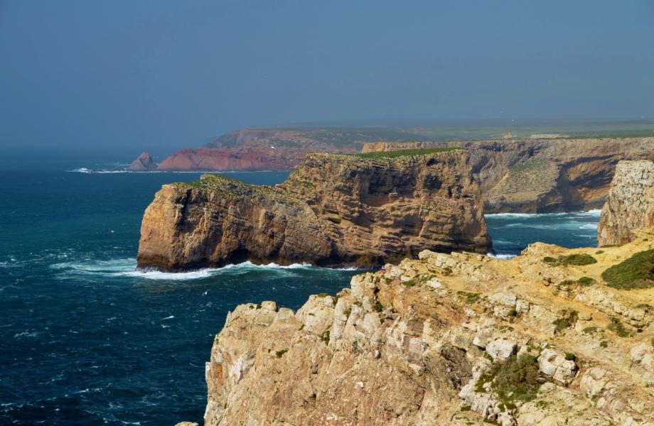 Küste bei Cabo de São Vicente