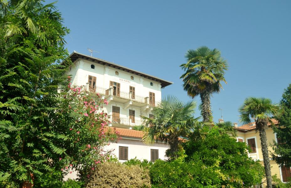 An den Hängen des Učka-Gebirges im Osten von Istrien liegt die kleine ...