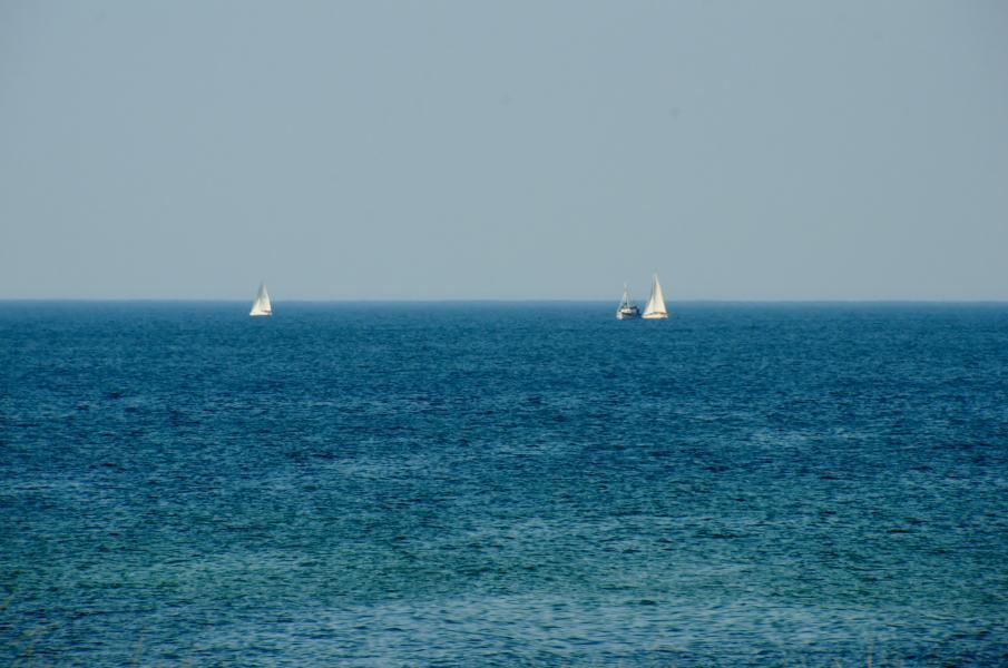 Segler auf der Ostsee