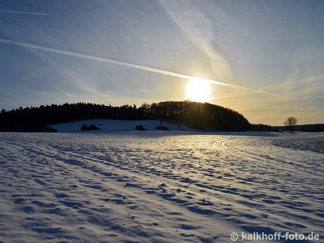 Winterlandschaft - Upahler See