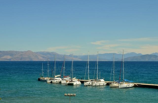 Hafen von Kerkyra